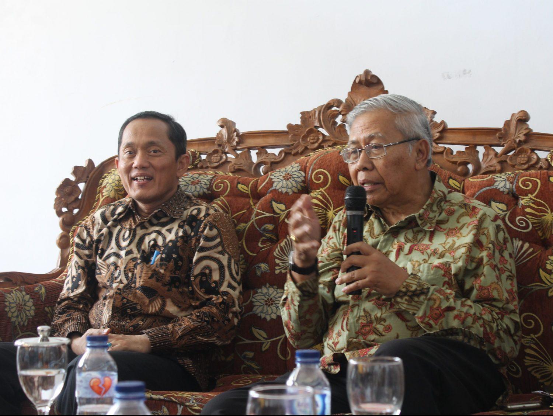 Rektor IAILM bersama Rektor ITB