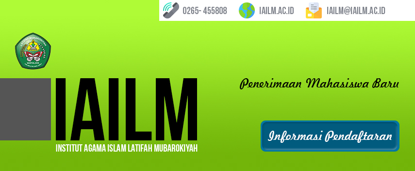 Penerimaan mahasiswa baru IAILM