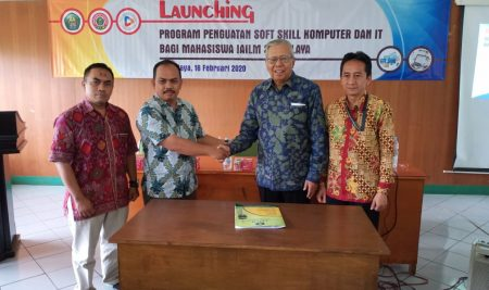 LAUNCHING PROGRAM PENGUATAN SOFT SKILL KOMPUTER